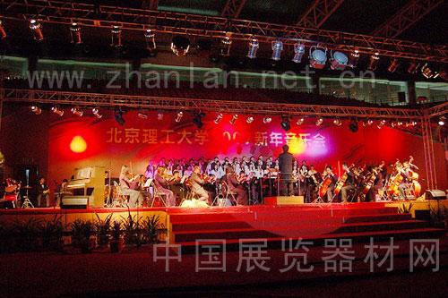 2007年大型音乐会背景板搭建租赁