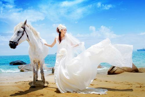 婚纱照片写真喷绘